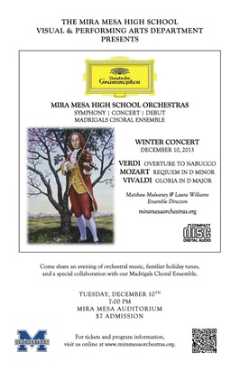 Winter Concert Flyer