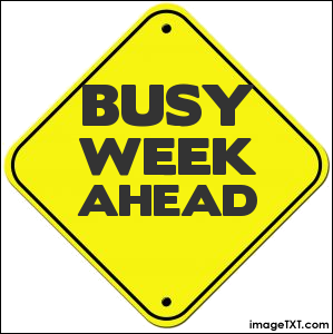 Image result for busy week